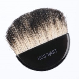 Blush brush from goat hair.