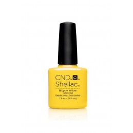 Shellac nail polish - BICYCLE YELLOW