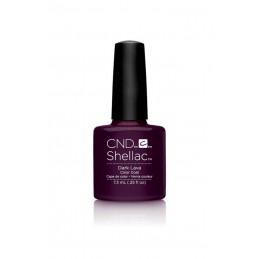 Shellac nail polish - DARK LAVA