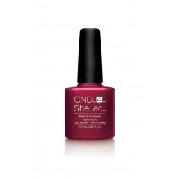 Shellac nail polish - RED BARONESS