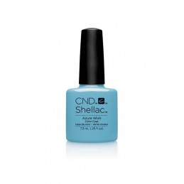 Shellac nail polish - AZURE WISH