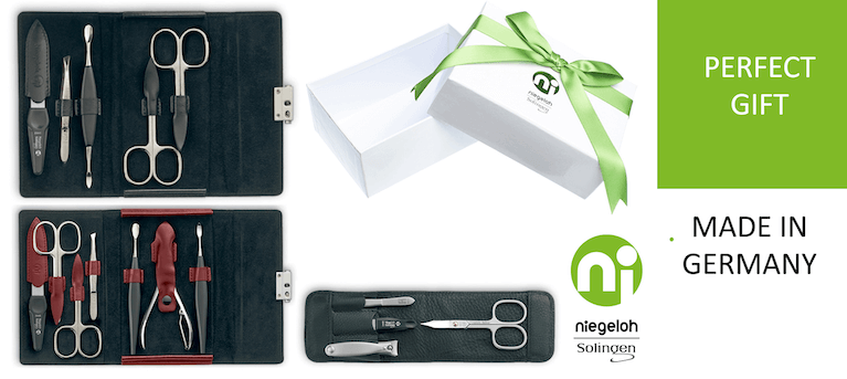 Luxury manicure sets from Solingen